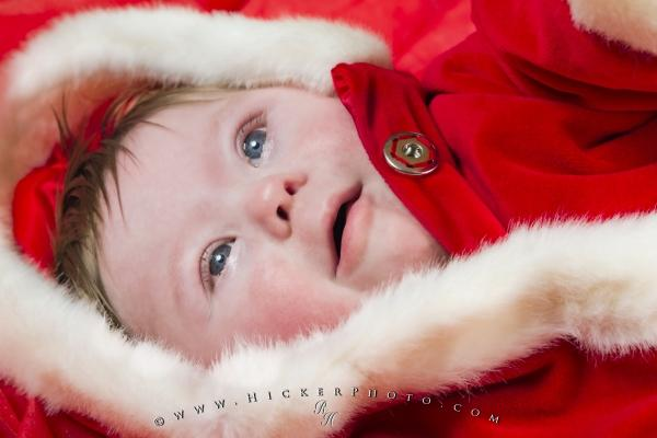 Photo:  Santa Baby Christmas Picture