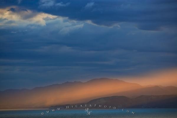 Photo:  Sky South Bay Kaikoura Sunset