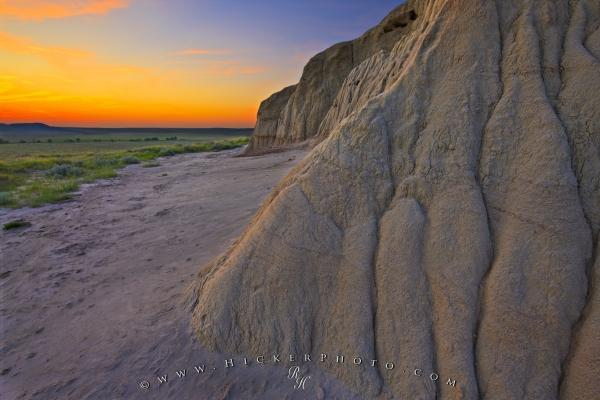 Sublime Landscape Sunset Photography Castle Butte Formations