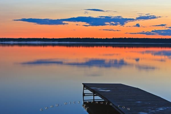 Sunset Dusk Lake Audy