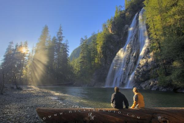 Photo:  Romantic Waterfall Picture Virgin Falls Vancouver Island