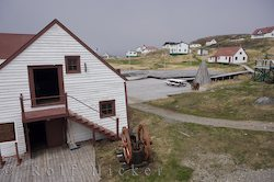 photo of Battle Harbour in Labrador a historic canadian fishing village
