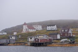 photo of Battle Harbour in Labrador Newfoundland