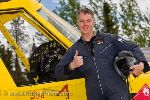 picture of canadian bush pilot guy cannon beside the air tractor airplane