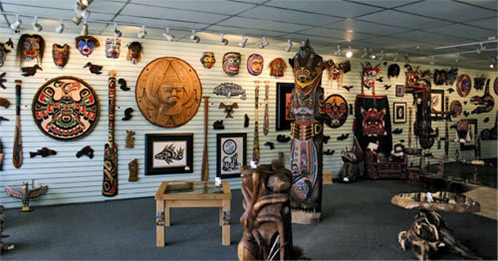 native art gallery port mcneill
